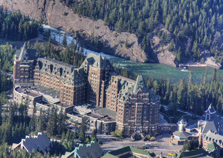 Visiting Luxury at Banff Springs Hotel