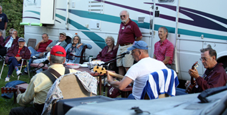 The Caravan Gets an Unexpected Musical Treat