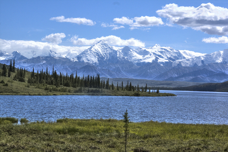 Majestic Mt. McKinley, North America's Highest
