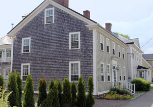 Built before 1810, this is one of the historic homes along Water Street in St. Andrews by the Sea.