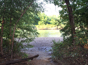 The Current River by the Float Camp -- A National Scenic Waterway