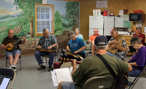 Monday is Dulcimer Night at Ozark RV Park. You'll also see autoharps, guitars, mandolins and others joining in the music-making.
