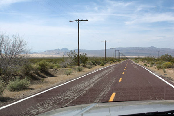 The Back Road to Las Vegas  © All photos by Barry Zander.   All rights reserved