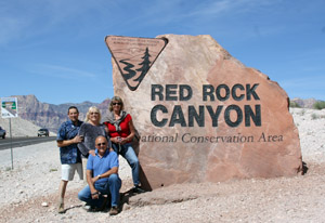 Red Rock Sign6069