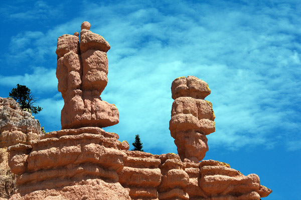 Hoodoos provide unforgettable sights in Bryce Canyon